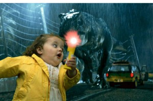 Bubble Girl Jurassic Park