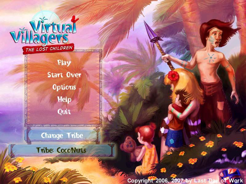 ���� virtual villagers 2 ������ ����� 100%